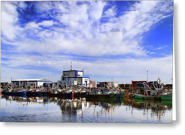 Greencastle Harbour Greeting Card
