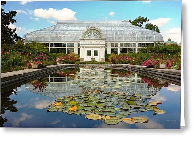 Greenhouse - The Conservatory Greeting Card