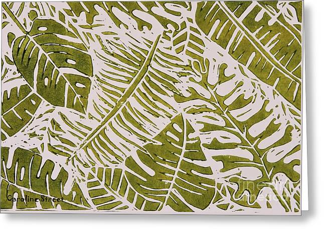 Greenleaves Greeting Card