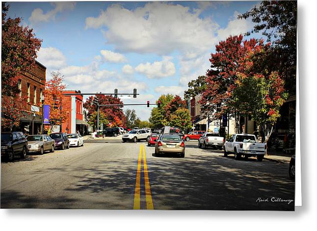 Greensboro Georgia By Reid Callaway Greeting Card by Reid Callaway