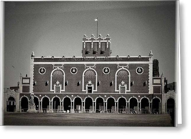 Greetings From Asbury Park Greeting Card by Allen Beilschmidt