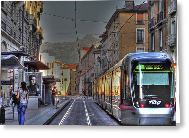 Grenoble Greeting Card