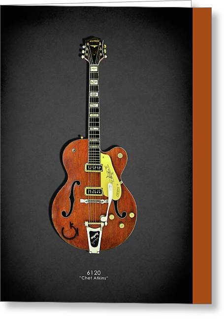Gretsch 6120 1956 Greeting Card