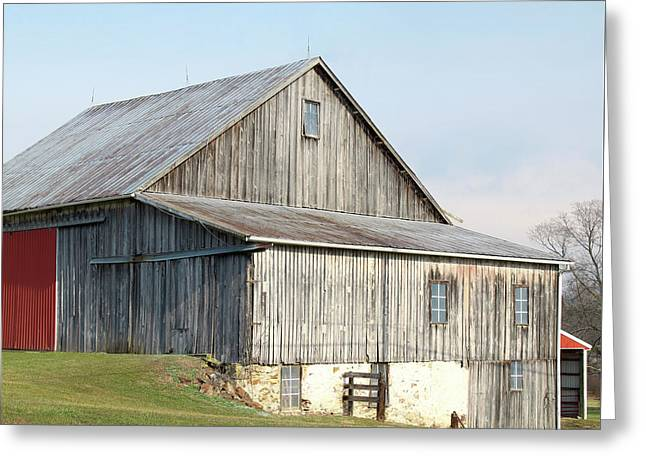 Greeting Card featuring the photograph Rustic Barn by Melinda Blackman
