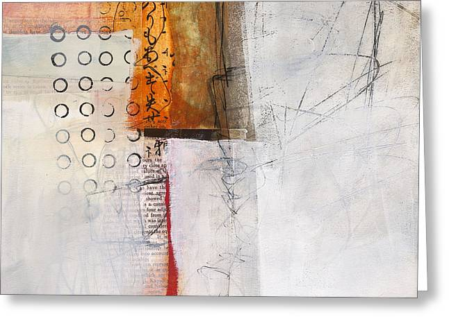 Grid 8 Greeting Card by Jane Davies