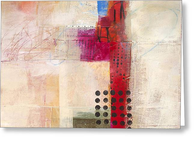 Grid 9 Greeting Card by Jane Davies