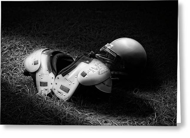 Gridiron Gear Greeting Card