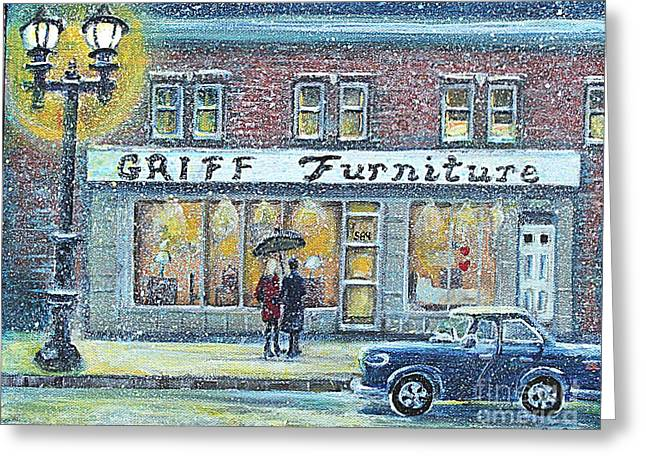 Griff Furniture Greeting Card