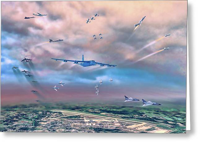 Griffiss Afb Rome Ny Greeting Card
