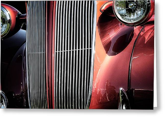 Greeting Card featuring the photograph Willys Grill by Scott Kemper