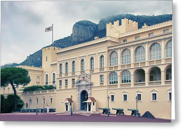 Grimaldi Fortress Greeting Card