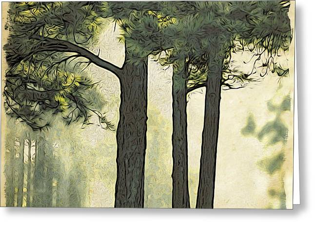 Greeting Card featuring the photograph Grimm's Forest  by Beauty For God