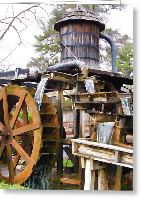 Grist Mill 1 Greeting Card by Lanjee Chee