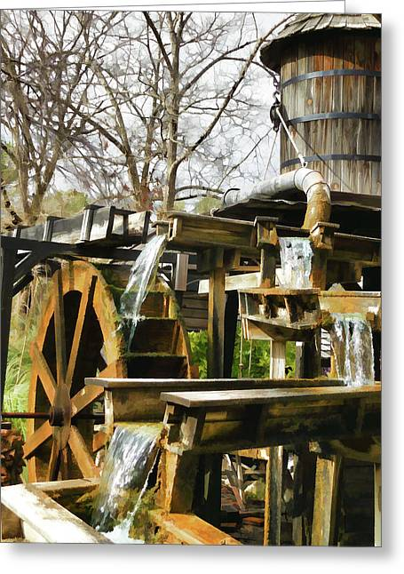 Grist Mill 2 Greeting Card by Lanjee Chee