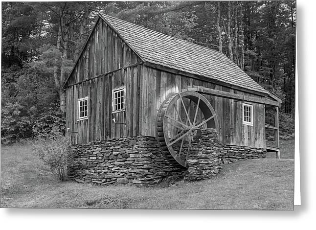 Greeting Card featuring the photograph Grist Mill by Guy Whiteley