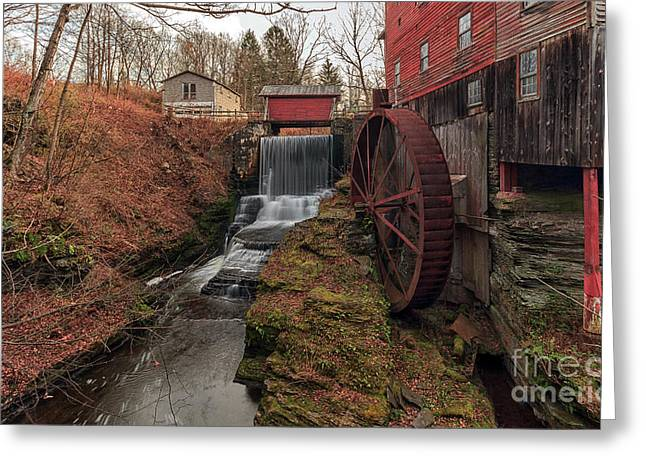 Grist Mill II Greeting Card