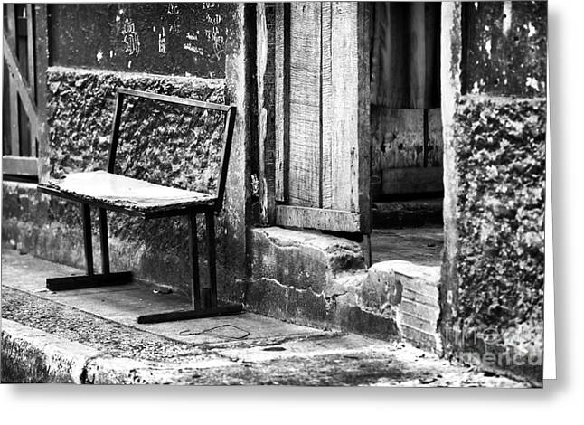 Ciudad Greeting Cards - Gritty Panama Greeting Card by John Rizzuto