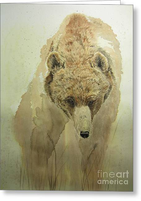 Grizzly Bear1 Greeting Card