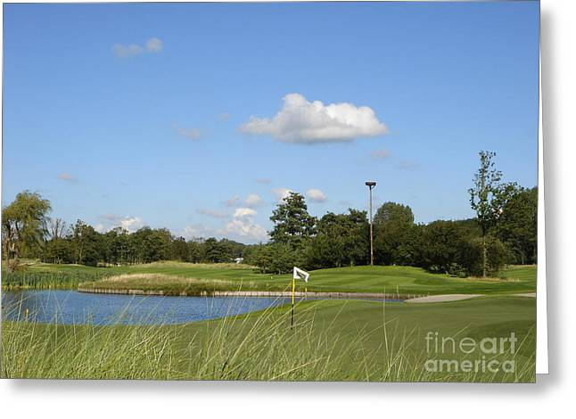 Groendael Golf The Netherlands Greeting Card