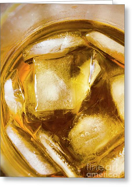 Grog On The Rocks Greeting Card