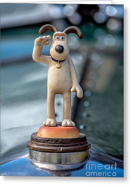 Gromit Greeting Card by Adrian Evans