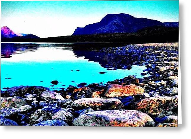Gros Morne Greeting Card by Christopher Campbell