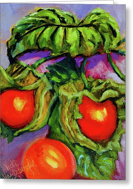 Ground Cherries Greeting Card