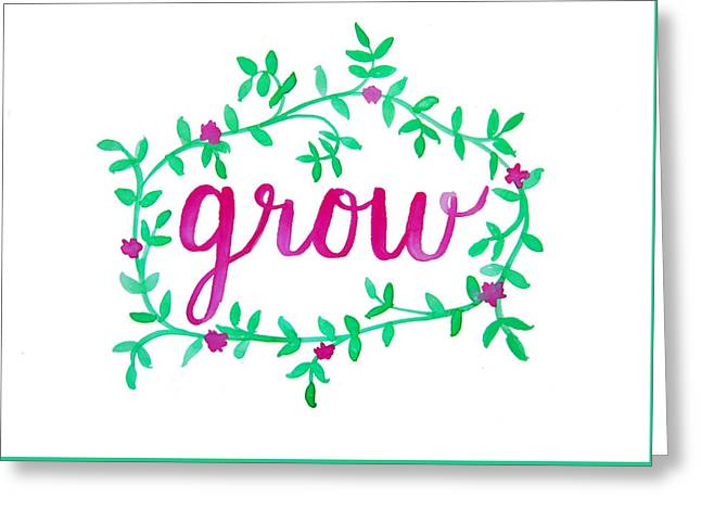 Grow Greeting Card
