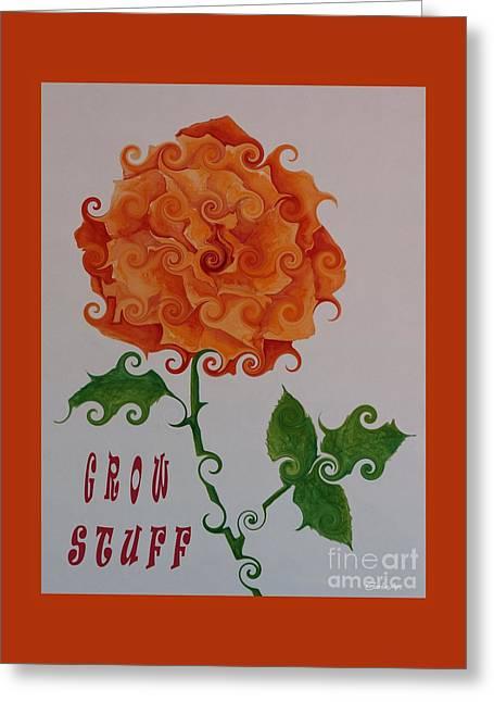 Grow Stuff Greeting Card