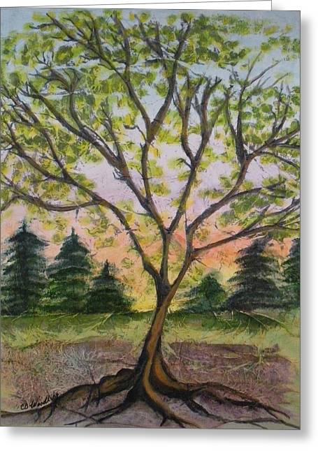 Growth Greeting Card by CB Woodling