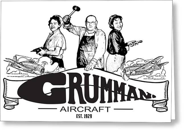 Grumman Aircraft Est 1929 Greeting Card