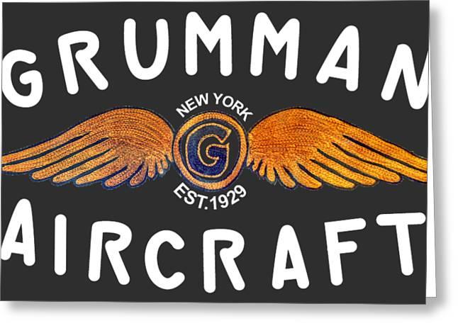 Grumman Wings Gold Greeting Card