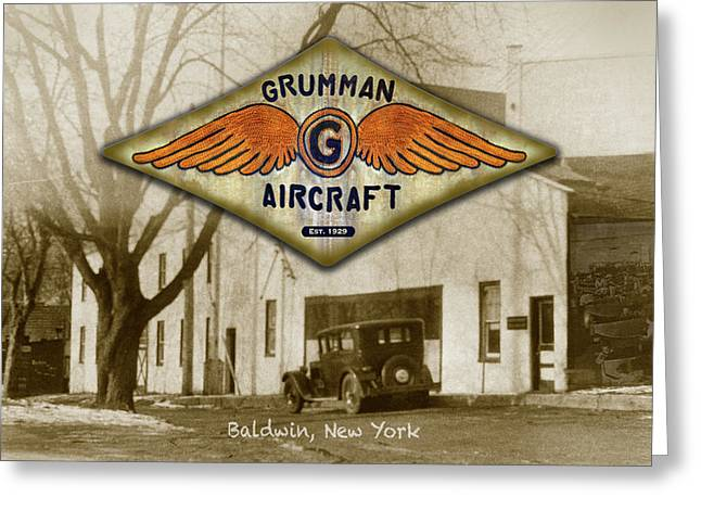 Grumman Wings Greeting Card