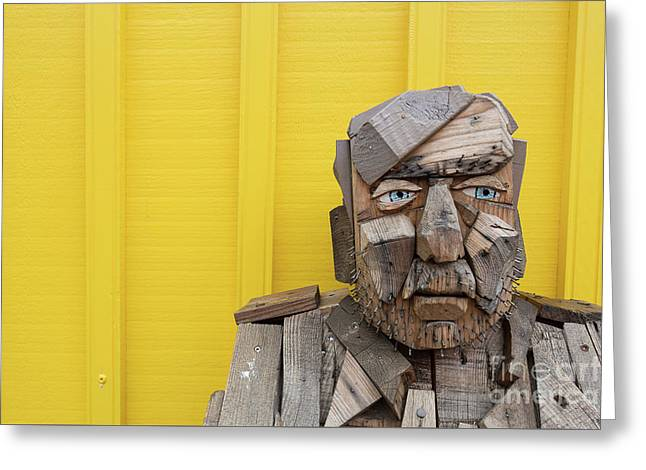 Greeting Card featuring the photograph Grumpy Old Man by Edward Fielding