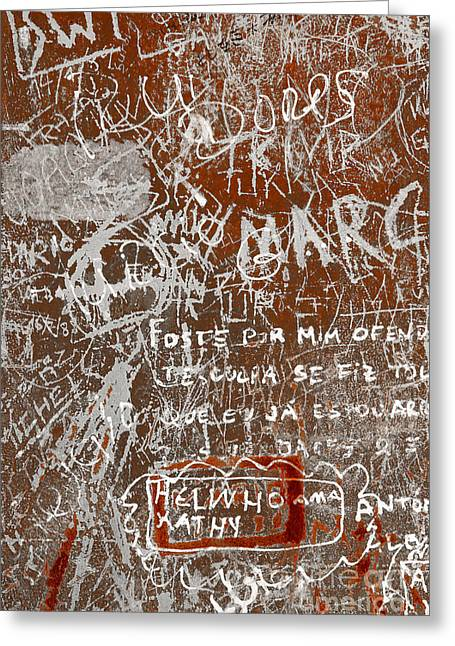 Metallic Greeting Cards - Grunge Background Greeting Card by Carlos Caetano