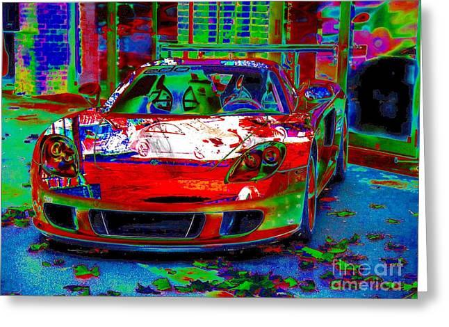 Gt Porsche Carrera Greeting Card