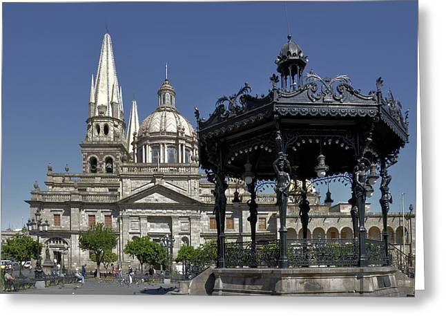 Guadalajara Greeting Card by Jim Walls PhotoArtist