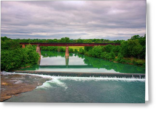 Guadeloupe River Greeting Card