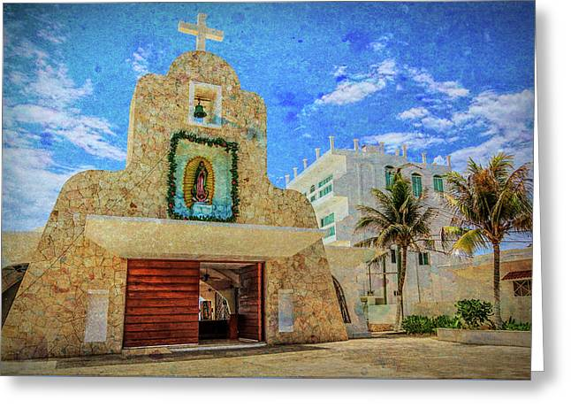Gualdalupe Church Greeting Card