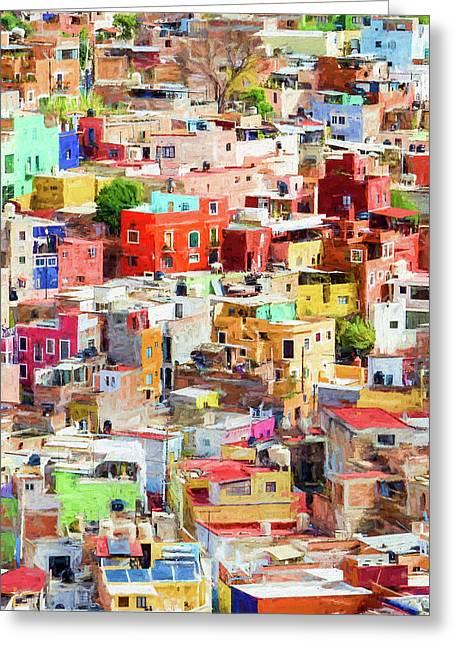 Guanajuato 2, Mexico. Greeting Card