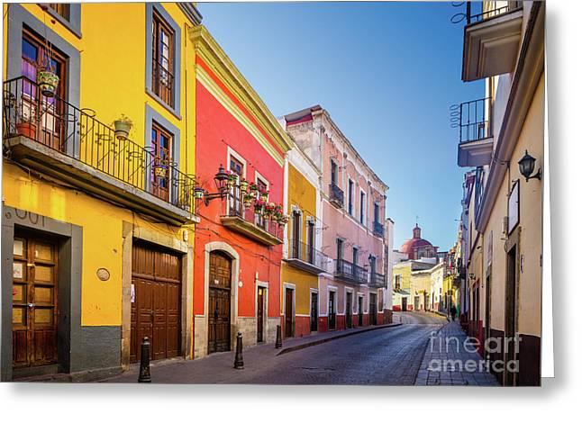 Guanajuato Casas Greeting Card