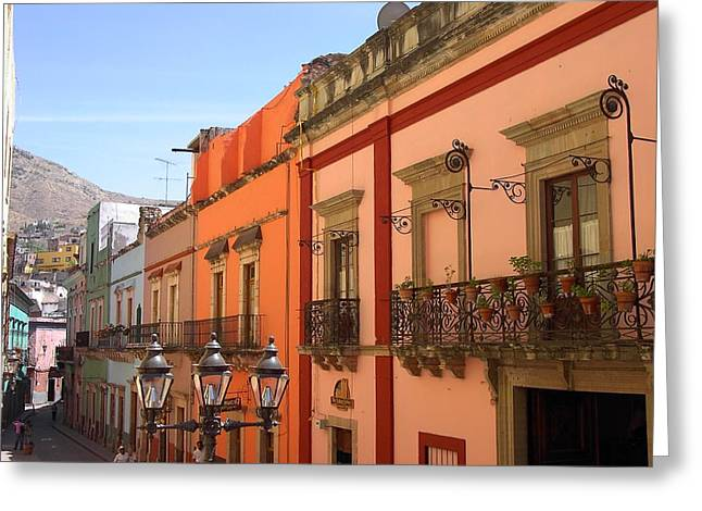 Greeting Card featuring the photograph Guanajuato by Mary-Lee Sanders