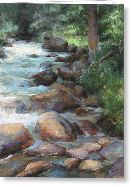 Guanella Pass Stream Greeting Card