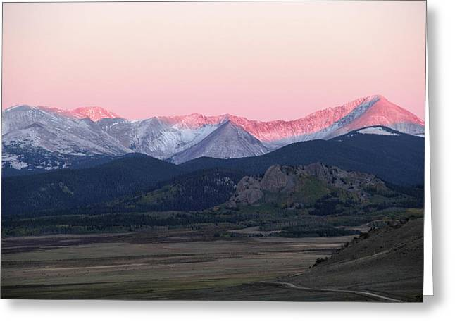 Guanella Sunrise Greeting Card