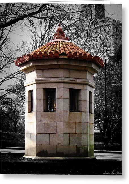 Guardhouse In Prospect Park Brooklyn Ny Greeting Card