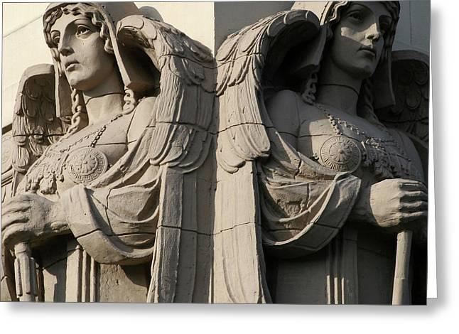Guardian Angels Greeting Card