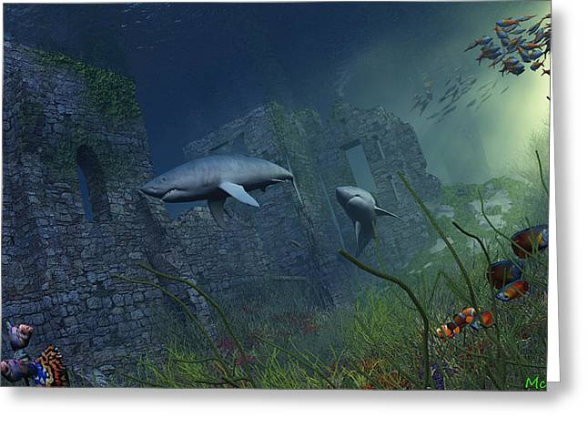 Guardians Greeting Card by Williem McWhorter