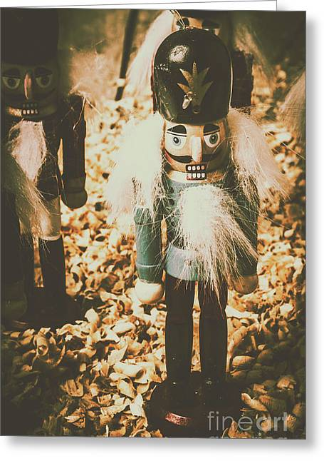 Guards Of Nutcracker Way Greeting Card