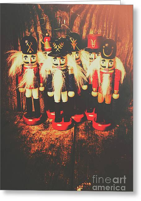 Guards Of The Toy Box Greeting Card by Jorgo Photography - Wall Art Gallery