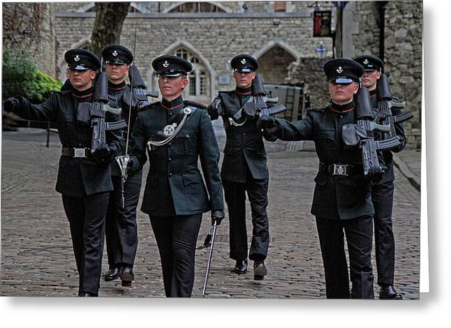 Guards Greeting Card